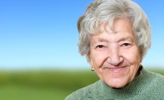 Happy Smiling female patient